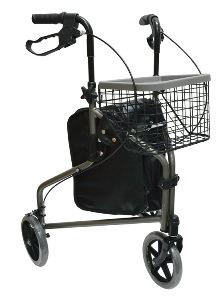 ndador rollator de 3 ruedas para adultos mayores