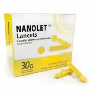 Lanceta estéril