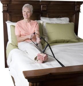 Asistencia para sentarse en cama