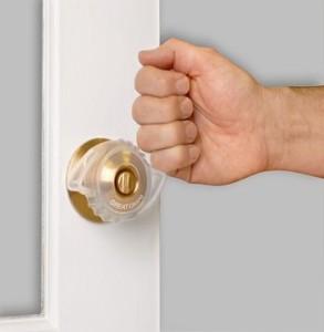 Auxiliar para perilla de puerta seguro y adaptable vida - Cambiar pomo puerta ...
