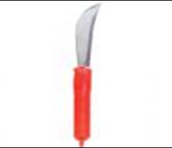Cuchillo redondeado con mango