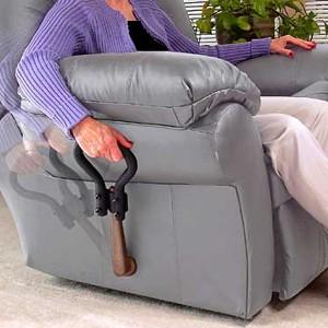 Extensión de manija para sillón
