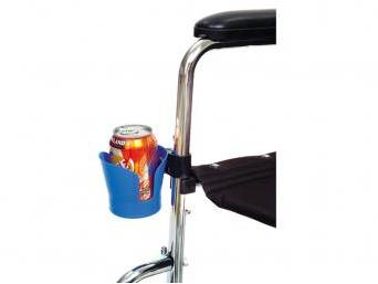 Portavasos para silla de ruedas