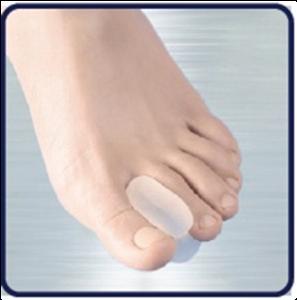 Separador de dedos para diabéticos