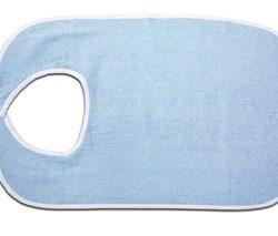 Babero de tela de suave y absorbente